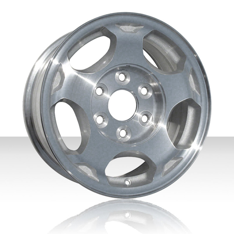Revolve 16x7 5 Silver Wheel For 2003 2007 Chevy Silverado 1500