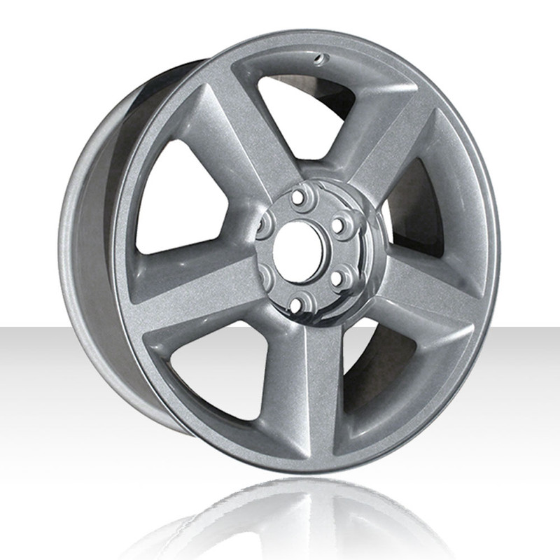Revolve 20x8 5 Silver Wheel For 2007 2012 Chevy Silverado 1500