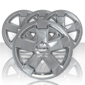 "Set of Four 18"" Chrome ABS Wheel Skins for 2009-2014 Dodge Challenger SE"