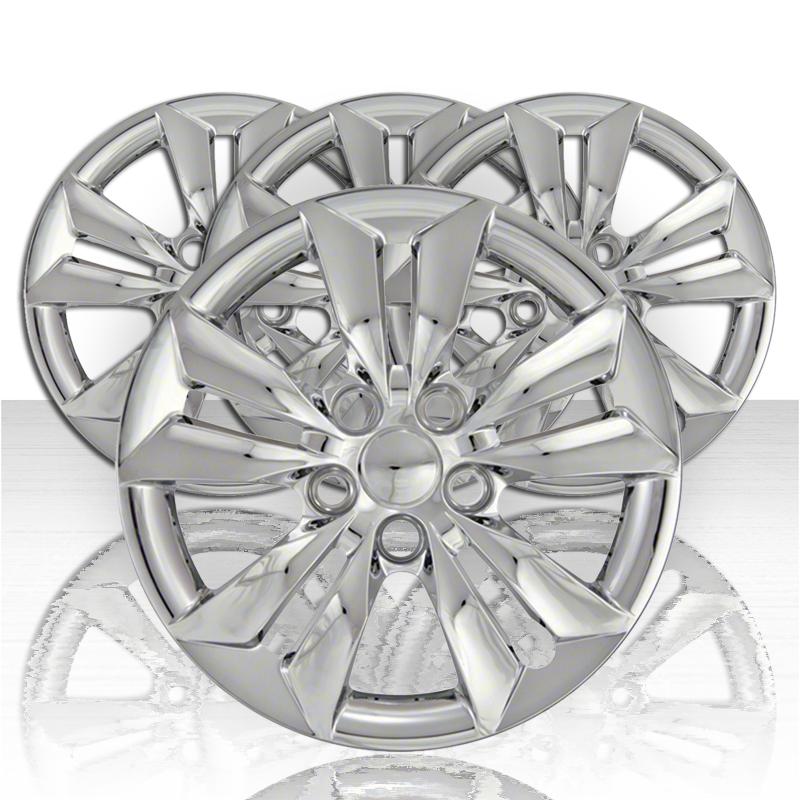 "New Set of 4 16/"" Chrome Wheel Skins for 2011-14 Hyundai Sonata 16/"" Alloy Wheels"