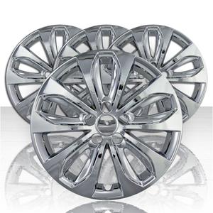 """Set of Four 18"""" Chrome ABS Wheel Skins for 2011-2013 Hyundai Sonata 2.0T/SE"""