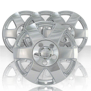 """Set of Four 17"""" Chrome ABS Wheel Skins for 2008-2010 Jeep Grand Cherokee"""