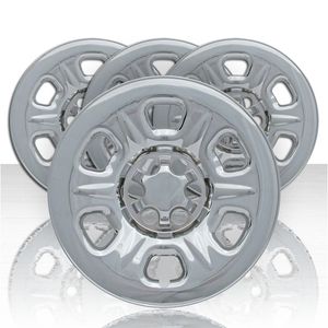 """Set of Four 16"""" Chrome ABS Wheel Skins for 2005-2015 Nissan Frontier"""
