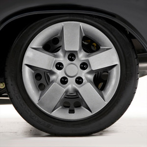 "Set of Four 16"" Silver ABS Wheel Covers for 2008-2013 Nissan Rogue (Push-on)"