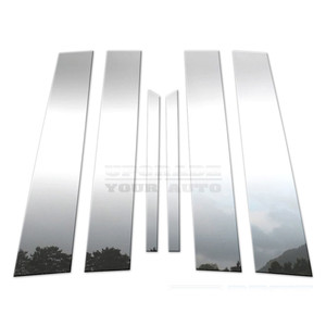 Brite Chrome   Pillar Post Covers and Trim   10-15 Chevrolet Equinox   BCIP039