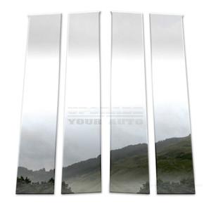 Brite Chrome | Pillar Post Covers and Trim | 15-16 Chevrolet Silverado HD | BCIP099