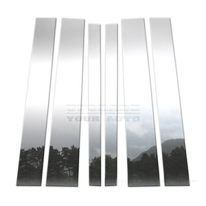 Brite Chrome | Pillar Post Covers and Trim | 02-09 Chevrolet TrailBlazer | BCIP111