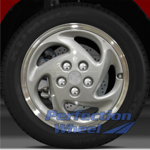 1995-1998 Eagle Talon 16x6 Factory Wheel (Bright Fine Metallic Silver)