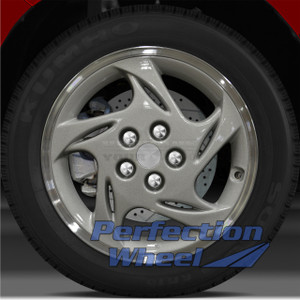 1997-1998 Eagle Talon 17x6.5 Factory Wheel (Sparkle Silver)