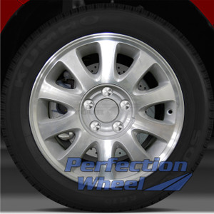 2001 Plymouth Voyager 16x6.5 Factory Wheel (Sparkle Silver)