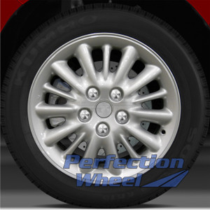 2001-2004 Chrysler Town & Country 16x6.5 Factory Wheel (Sparkle Silver)