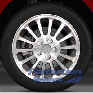 2002-2005 Mercury Sable 16x6 Factory Wheel (Medium Metallic Charcoal)