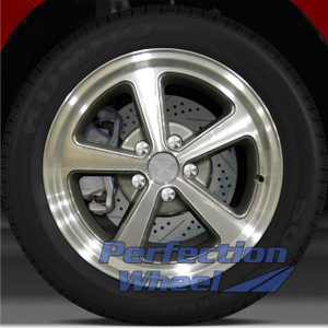 2003-2004 Ford Mustang 17x8 Factory Wheel (Medium Metallic Charcoal)