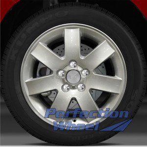 2005-2006 Mercury Montego 17x7 Factory Wheel (Sparkle Silver)