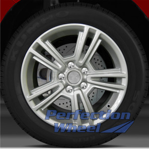 2010-2014 Ford Mustang 17x7 Factory Wheel (Bright Sparkle Silver)