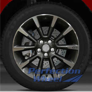 2011-2012 Ford Mustang GT 19x8.5 Factory Wheel (Dark Blueish Charcoal)