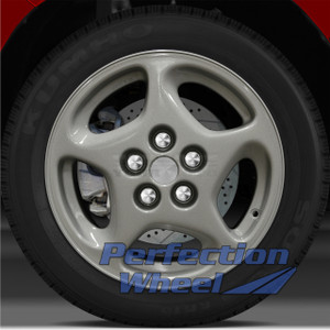 1990-1996 Nissan 300ZX 16x7.5 Factory Right Wheel (Bright Medium Silver)