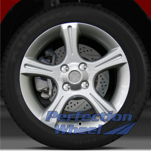 2002-2003 Nissan Sentra 17x7 Factory Wheel (Bright Fine Silver)