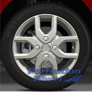 2009-2014 Nissan Cube 16x6 Factory Wheel (Bright Sparkle Silver)