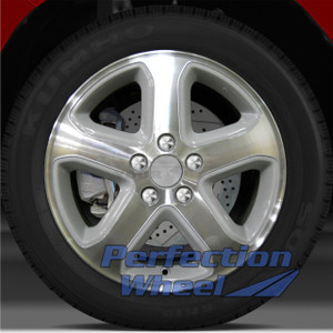 2006-2007 Honda Accord 17x6.5 Factory Wheel (Medium Silver)