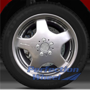 2000-2002 Mercedes S500 18x8.5 Factory Front Wheel (Hyper Bright Mirror Silver)