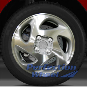 1998-2002 Toyota Corolla 14x5.5 Factory Wheel (Bright Medium Sparkle Silver)