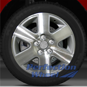 2004-2010 Toyota Sienna 16x6.5 Factory Wheel (Medium Sparkle Silver)