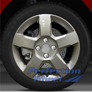 2006-2007 Saturn Ion 16x6 Factory Wheel (Sparkle Silver)