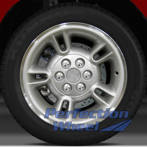 1997-2000 Dodge Dakota 15x8 Factory Wheel (Sparkle Silver Lip Cut)