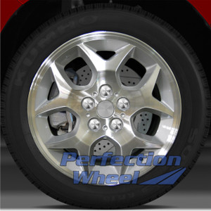 2000-2005 Dodge Neon 15x6 Factory Wheel (Medium Sparkle Silver)