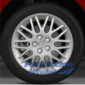 2001-2002 Dodge Neon 16x6 Factory Wheel (Sparkle Silver)