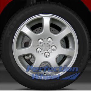 2002-2005 Dodge Neon 15x6 Factory Wheel (Sparkle Silver Full Face w/Ledge)