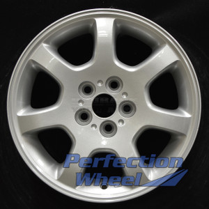 2002-2005 Dodge Neon 15x6 Factory Wheel (Sparkle Silver Full Face)
