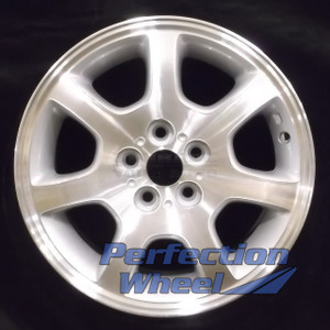 2002-2005 Dodge Neon 15x6 Factory Wheel (Sparkle Silver Machined)