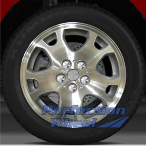 2003-2005 Dodge Neon 15x6 Factory Wheel (Medium Sparkle Silver)