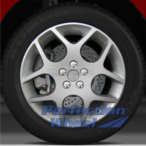 2003-2005 Dodge Neon 17x6 Factory Wheel (Bright Fine Silver)
