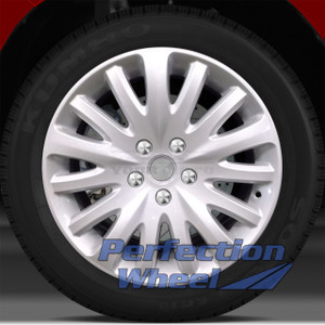 2010-2011 Mercury Milan 17x7.5 Factory Wheel (Sparkle Silver)