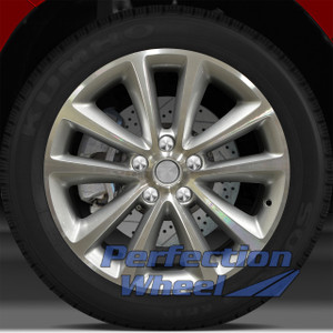 2011-2012 Opel Astra 18x8 Factory Wheel (Bright Sparkle Silver)