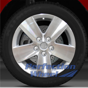 2007-2008 Saturn Aura 16x6.5 Factory Wheel (Sparkle Silver)