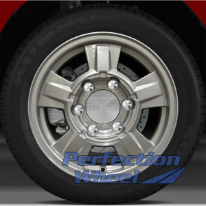 2008 Isuzu i370 4x2 15x6.5 Factory Wheel (Sparkle Silver Full Face)