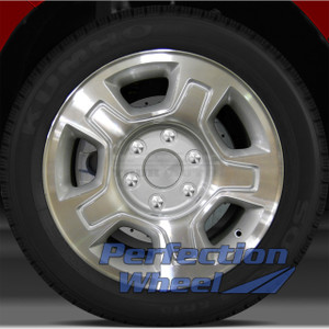 2007-2010 Chevy Tahoe 17x7.5 Factory Wheel (Sparkle Silver)