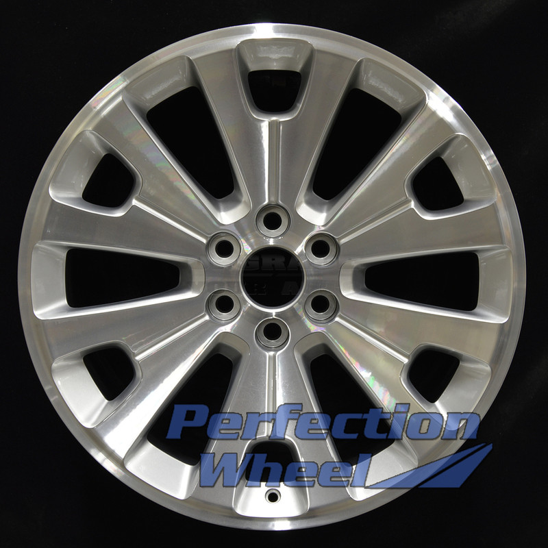 2014 2015 Chevy Silverado 1500 22x9 Factory Wheel Hyper Medium Silver Bright