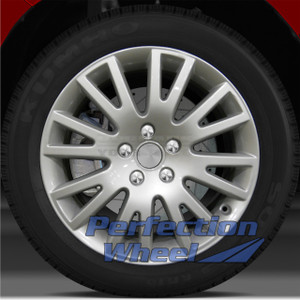 2005-2010 Audi A6 17x7.5 Factory Wheel (Bright Fine Metallic Silver)