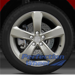 2012 Audi A6 18x8 Factory Wheel (Fine Bright Silver)