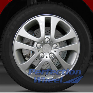 01-06 BMW 330i 17x7 Wheel (5 Split Spoke Bright Fine Metallic Silver Full Face)