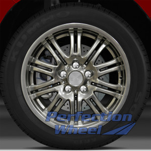 2001-2006 BMW M3 18x8 Factory Front Wheel (Hyper Bright Smoked Silver)