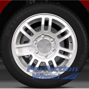 2006-2010 Hummer H3 16x7.5 Factory Wheel (Sparkle Silver Full Face)