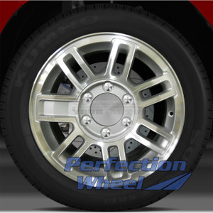 2006-2010 Hummer H3 16x7.5 Factory Wheel (Sparkle Silver Machined)