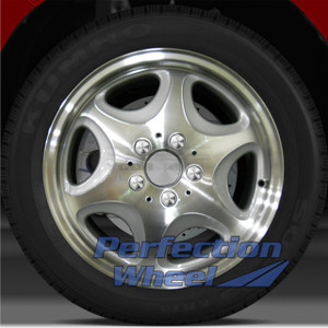 1998-1999 Mercedes CL500 16x7.5 OEM Front Wheel (Bright Fine Metallic Silver)