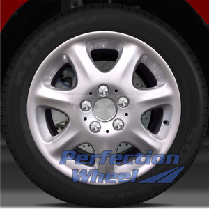1999-2005 Mercedes S500 16x7.5 Factory Wheel (Bright Fine Metallic Silver)